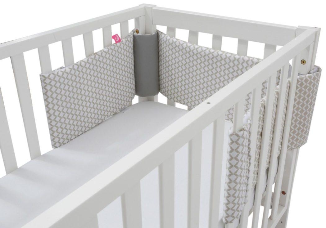Motherhood Ochraniacz Do łóżeczka Classics Beżowy
