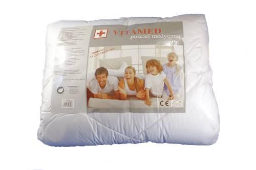dd92b629f77d82 Wypełnienie Poldaun VITAMED pościel medyczna kołdra 135/100 cm + poduszka  60/40 cm komplet całoroczny