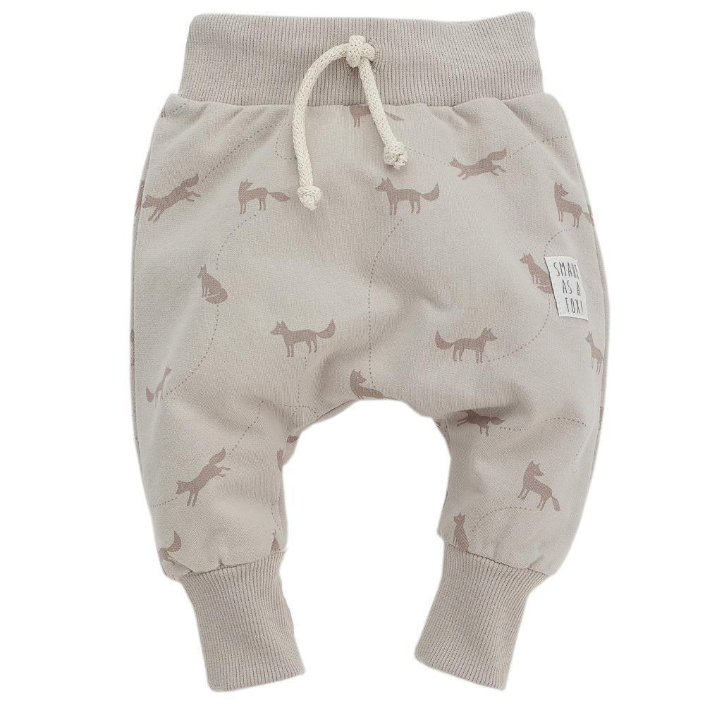 7fc17613e6f27d Pinokio spodnie Pumpy SMART FOX beżowe rozmiary 62-86 cm