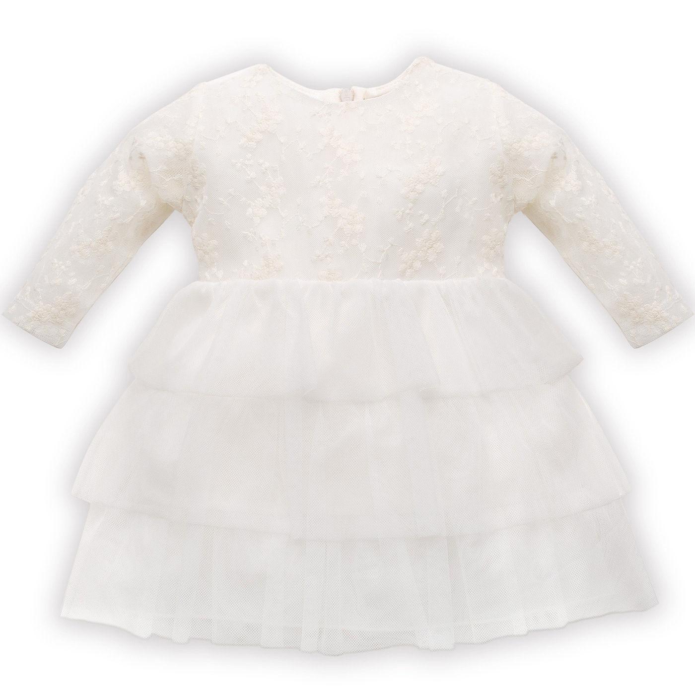 d53bd8d40e Pinokio sukienka koronkowa PRINCESS w kolorze ecru rozmiary 68-98 cm