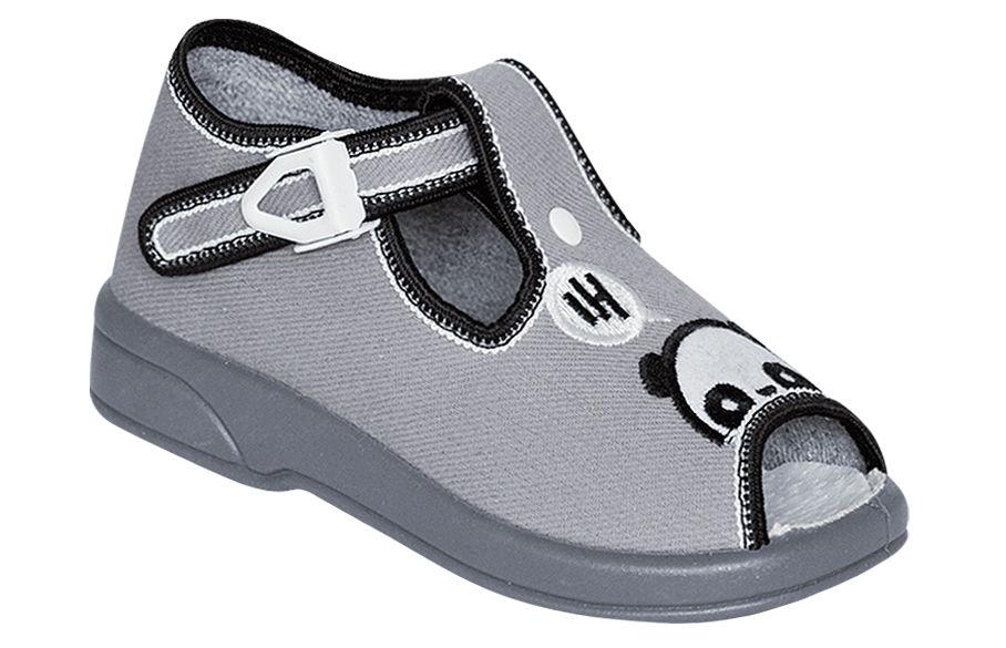 5d183ca846b8 ZETPOL buciki dziecięce MATEUSZ szary rozmiary 18-27 obuwie dziecięce  zapinane na klamerkę