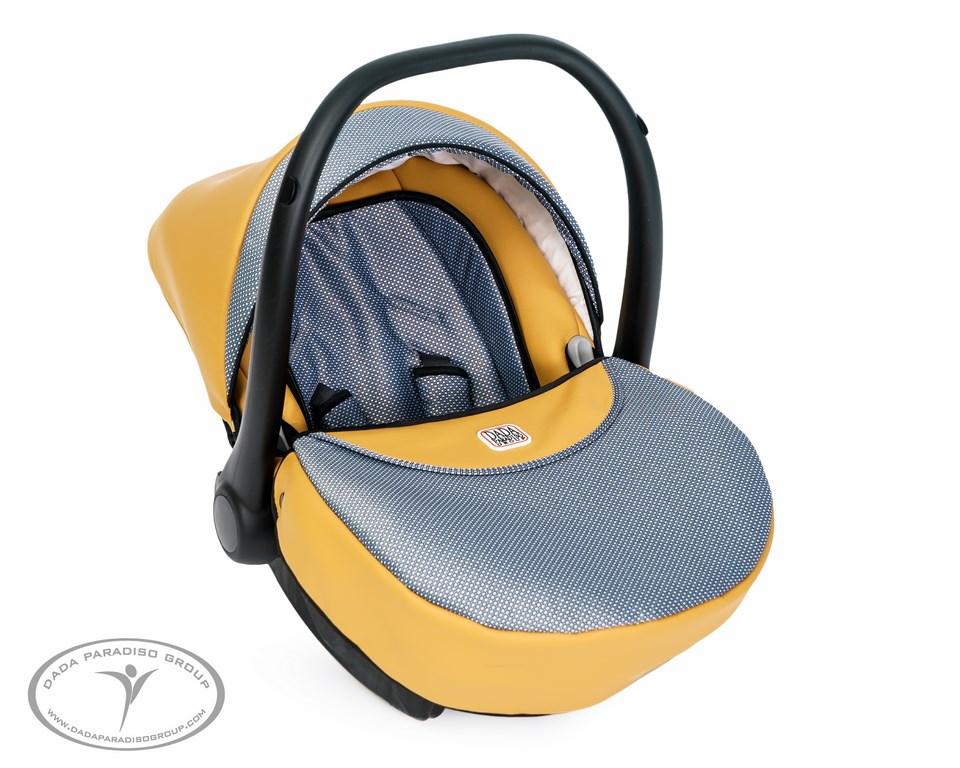 MAX 500 TOFFEE wózek wielofunkcyjny z fotelikiem dla dziecka 3w1 DADA  Paradiso Group 4adf97672ee5e