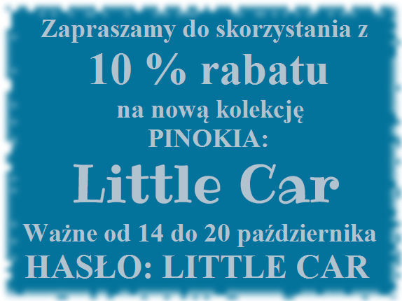 Little Car kupon rabatowy 10%